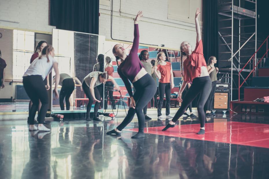 Fotoreportage voor Danstheater 'De stilte'