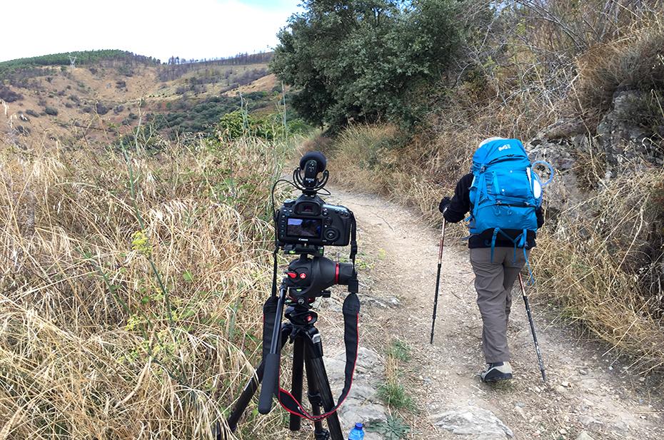 Trailer 'Met blind vertrouwen naar Santiago'